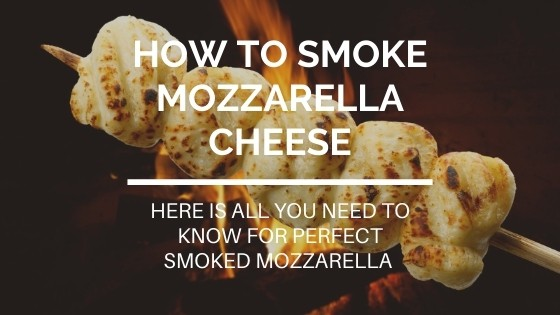 how to smoke mozzarella