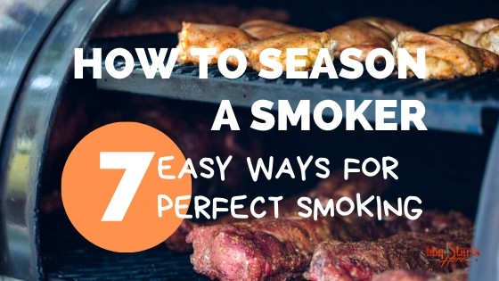 how to season a smoker