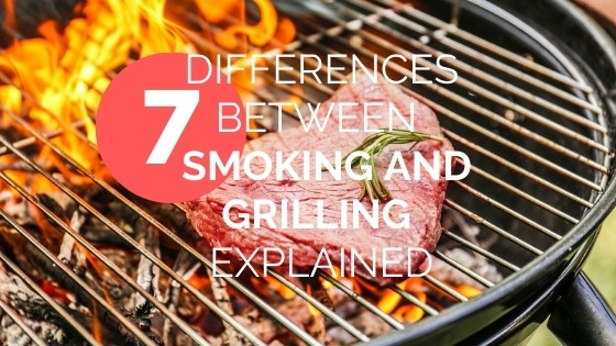 smoking vs grilling